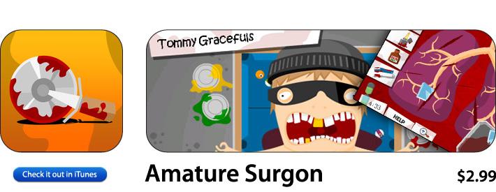 Amateur Surgeon App For iOS
