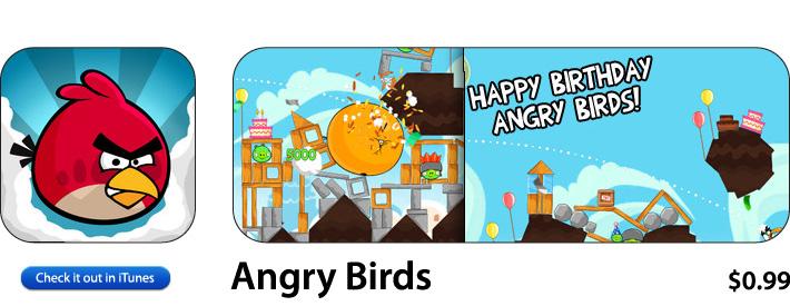 Angry Birds App For iOS