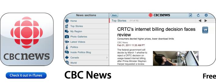 CBC App for iOS