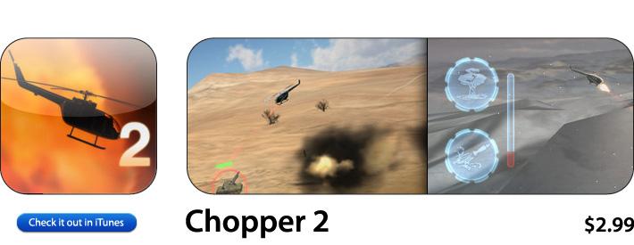 Chopper 2 App For iOS