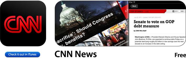 CNN App for iOS