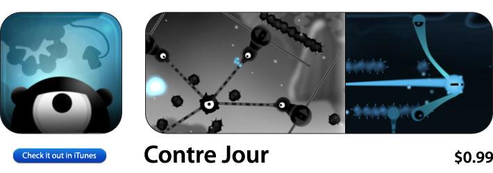 Contre Jour App For iOS