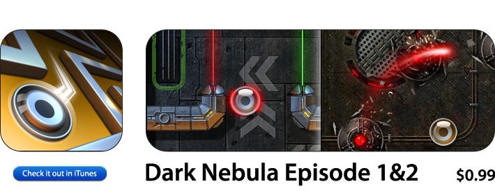Dark Nebula App For iOS