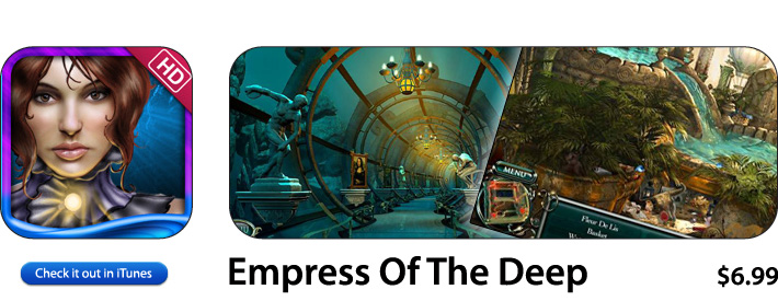 Empress Of The Deep App For iOS