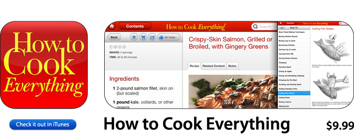 How To Cook Everything App For iOS