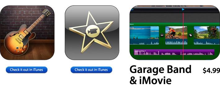 iMovie & Garage Band For iOS