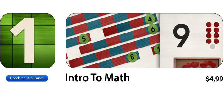 Intro To Math App For iOS