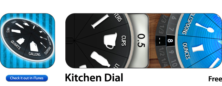 Kitchen Dial App For iOS