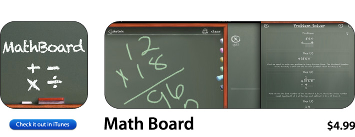 Math Board App For iOS