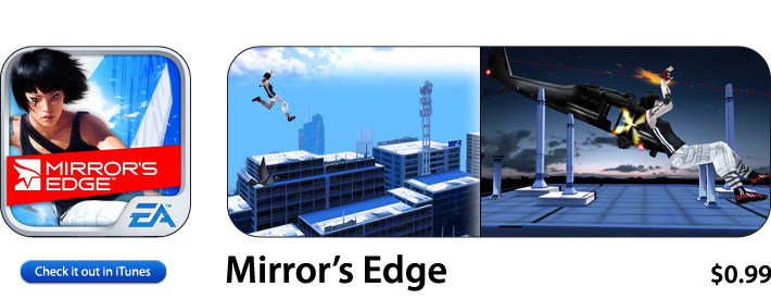 Mirrors Edge App For iOS