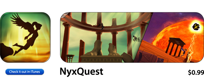 NyxQuest App For iOS