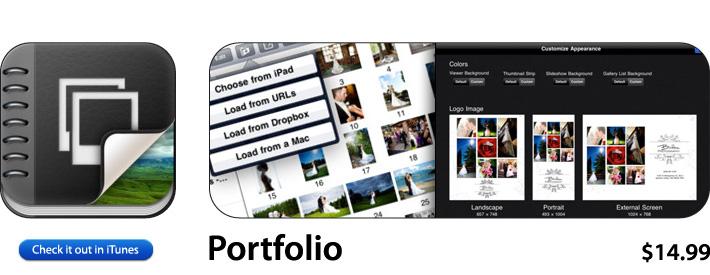 Portfolio App For iOS