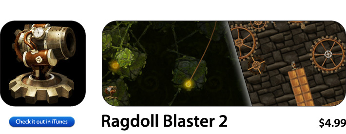 Ragdoll Blaster App For iOS