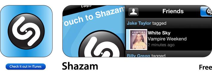 Shazam App For iOS