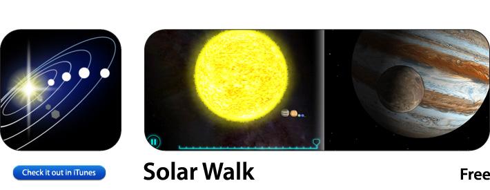 Solar Walk App For iOS