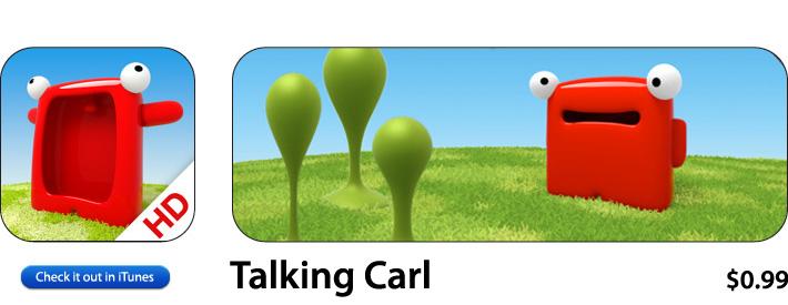 Talking Carl App For iOS