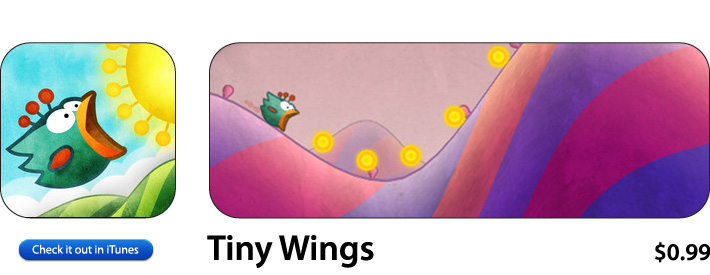 Tiny Wings App For iOS