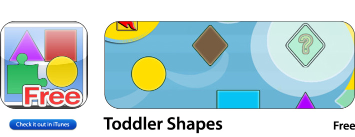 Toddler Shapes App For iOS