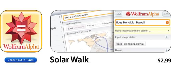 Wolfram Alpha App For iOS